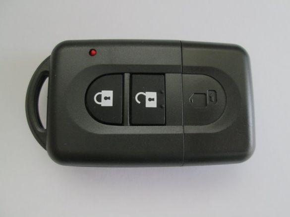 Смарт ключ за Nissan (Micra/Qashqai/Note/X-Trail) комплект!