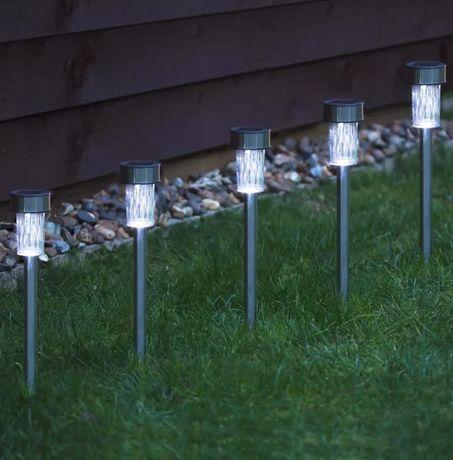 Lampa solara gradina , LED, Oțel 7 lei bucat ( Stoc limitat )