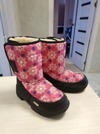 Обувь зимняя, дутыши
