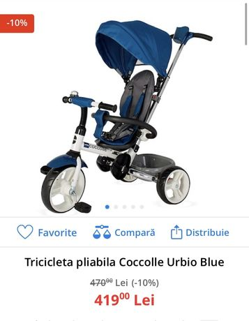 tricicleta copii coccolle