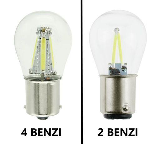 2x LED cu 1 sau 2 faze P21W sau P21/5W, cu 2 sau 4 benzi LED, alb rece