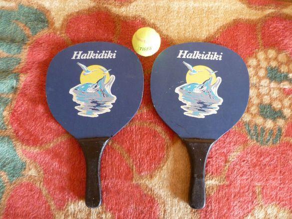 Тенис игра за плажа и не само