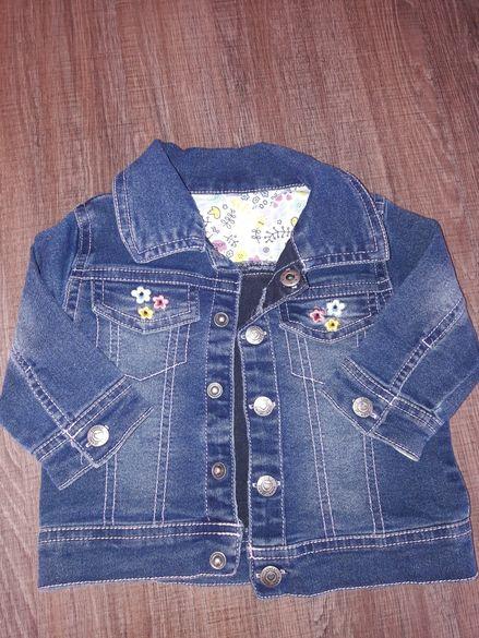 бебешко дънково якенце