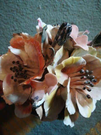 Floare in vaza ceramica