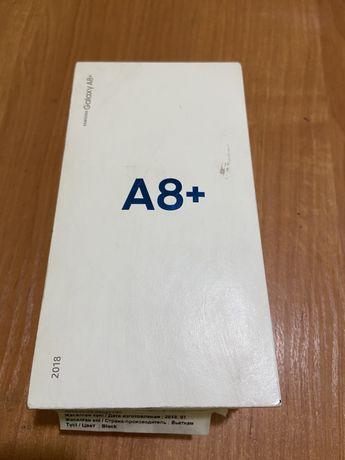 Samsung A8+ смартфон