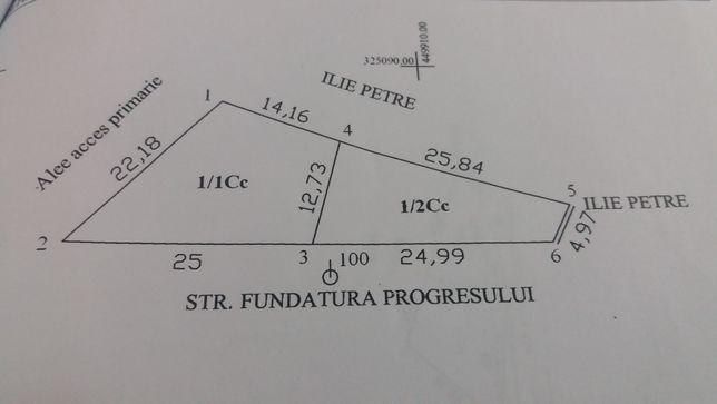 Teren 220mp, progresul II