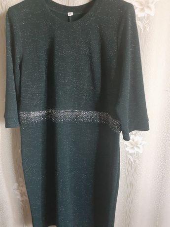 Платье Офисное новое 52р.