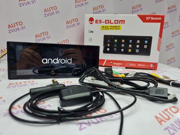 Автомагнитола Андроид 1дин с экраном/Android 10. Магнитафон 1гб и 16гб