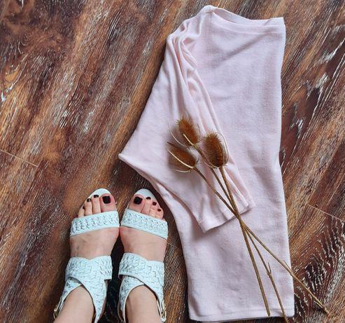 Sandale noi,piele, Zara