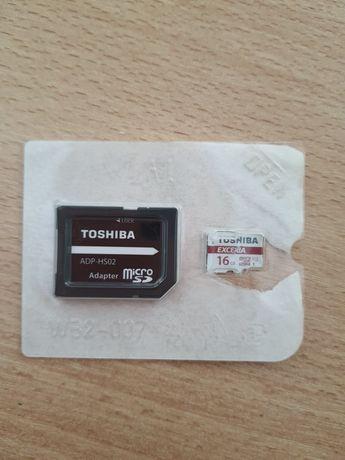 Флаш карта Toshiba EXCERIA™ с адаптор