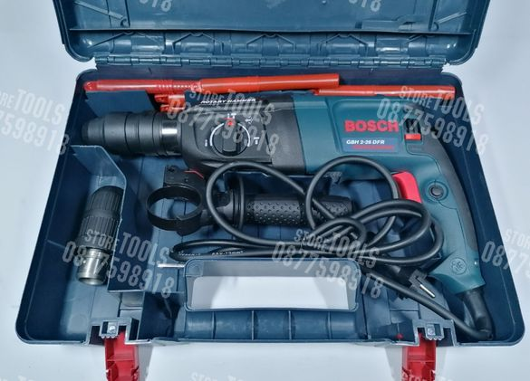 Перфоратор / Къртач Bosch SDS Plus 2-26 DFR 1100w + 2ри Патронник