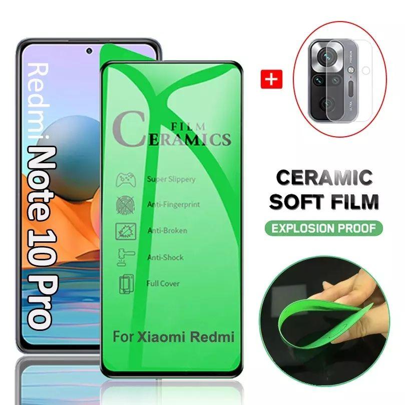 Xiaomi Redmi Note 10 Pro Керамичен протектор  стъклен poco x3 pro цена