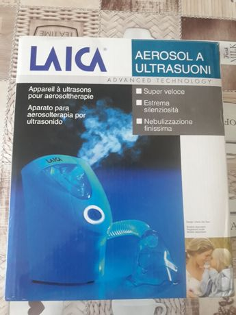 Vând aparat pentru aerosoli Laica import Italia în stare f.buna .