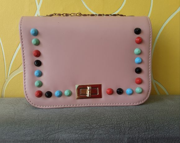Продам розовую сумку
