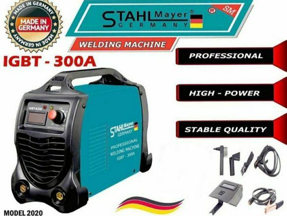 Немски инверторен електрожен 300А