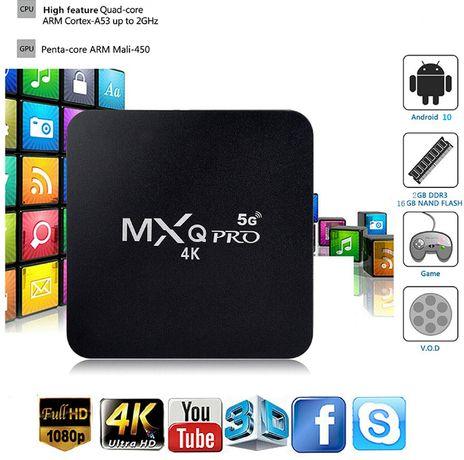 TV Box Android MXq Pro 5G 4K 4GB RAM/32GB ROM Вносител евтини боксове