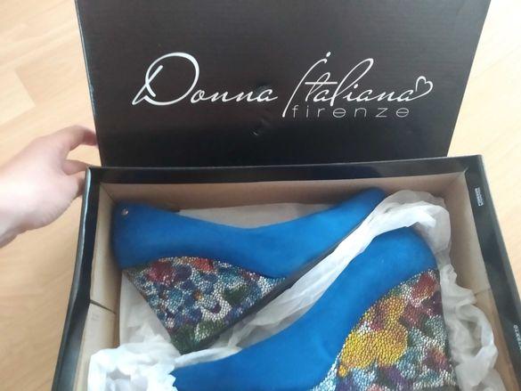 Обувки Donna Italiana, ЕСТЕСТВЕНА кожа, 36-ти размер