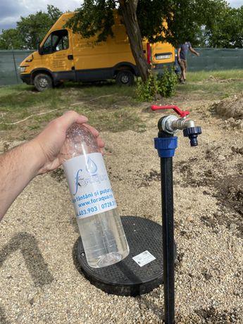 Foraj apă, sisteme alimentre cu apă