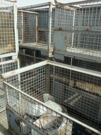 Ящик контейнер клетка сетка металлические качественые