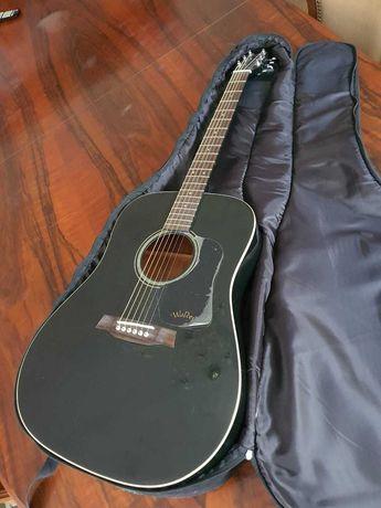 Акустическая гитара Walden D350 черная
