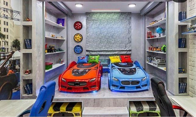 Kровать-машина (3d)серии NEO. Детская кровать