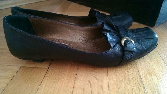 Обувки ниски - естествена кожа