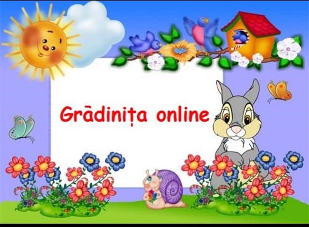 Activitati gradinitita Gradinita Online