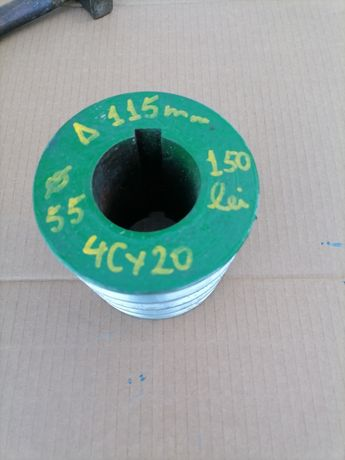 Fulie 115 mm 4 curele