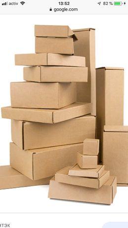 Картонные коробки и листы (любых видов и размеров ) Картон қорапшасы