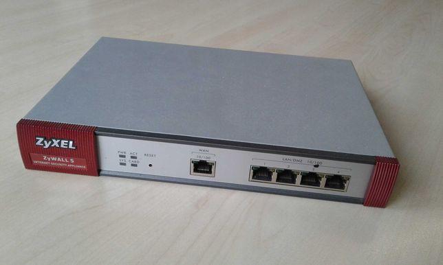 Firewall Zyxel Zywall 5 + Zyxel Turbo Card, kit complet nou