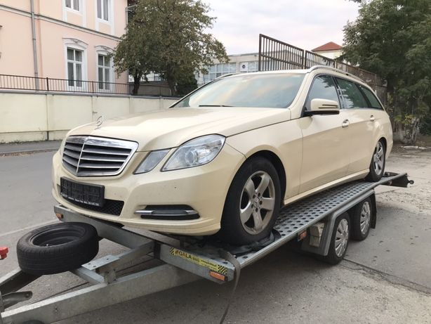 Mercedes E 200, an 2013, motor defect