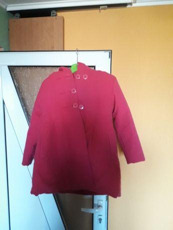 Розаво  палтенце с качулка