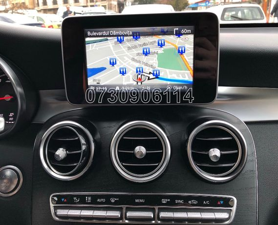 Card SD Original navigație Mercedes Garmin C E GLC V Class Europa 2020