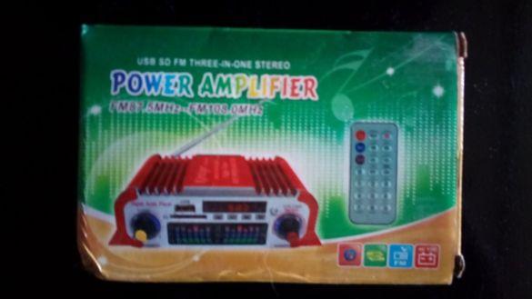авто радио ,мр3,усилвател 4х 20вата 12в.