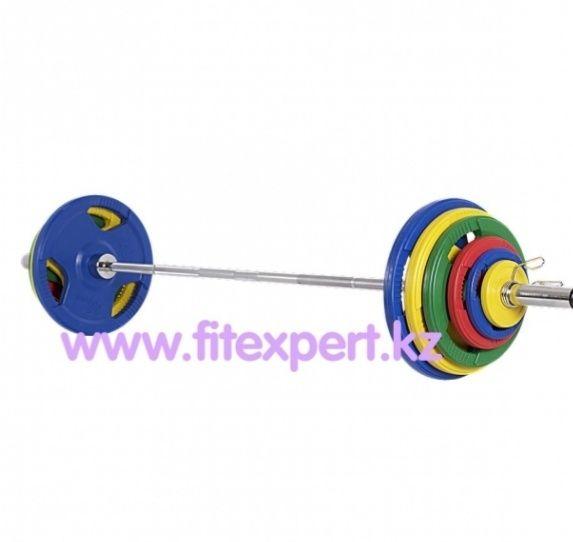 Штанга Гриф 220 см с юлинами 100 кг
