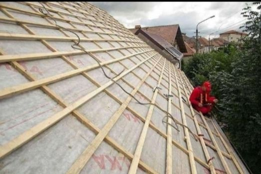 Montaj acoperișurii reparati