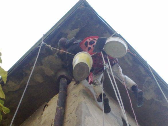 Външна топлоизолация с алпинисти. Изолация на жилище и апартаменти