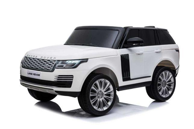 Masinuta electrica Range Rover Vogue HSE 4x4 180W DELUXE #Alb