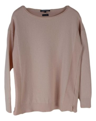 Bluza Pullover Dama Tommy Hilfiger Marimea S Roz din Lana Casmir BV70