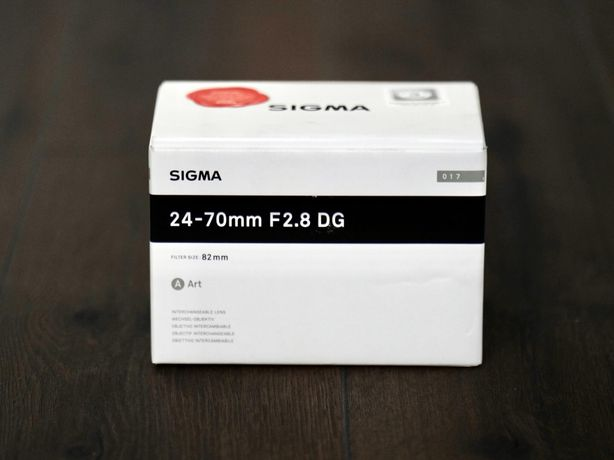 Sigma 24-70mm F2.8 DG HSM OS - Nikon FX