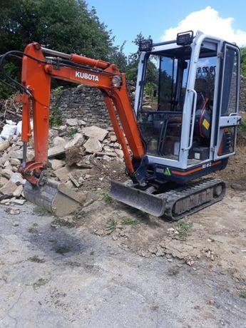 Изкопи с мини багер. Дренажи, водопровод и канализация.