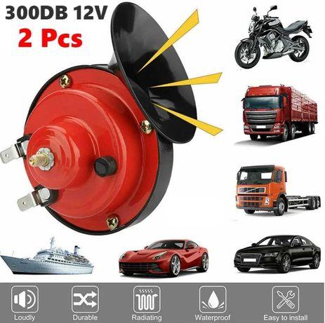Set Claxon Auto Universal tip Melc 12v Auto / Moto / Camioane