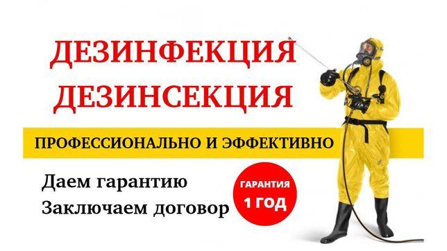 ДЕЗИНФЕКЦИЯ уничтожение клопов,тараканов,муравьев,ос,крыс,клещей!