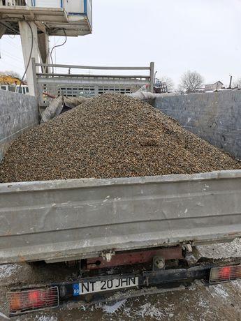 Transport marfa (nisip ,sort, pamant,materiale de construcții, schele)