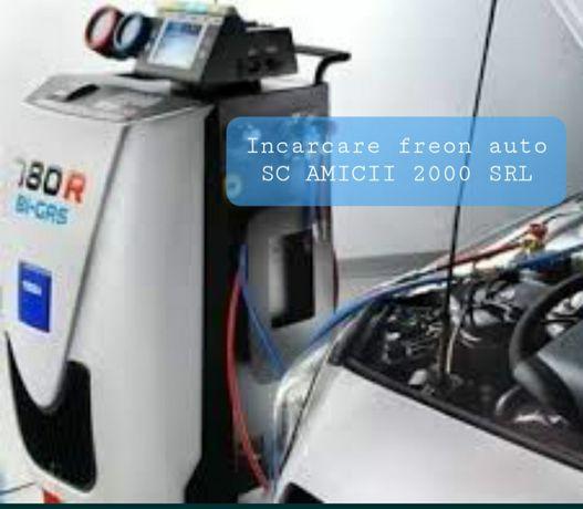 Incarcare freon auto R134a si R1234YF - Amicii 2000 SRL