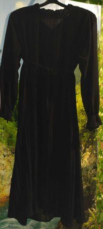 Платье шифон. НОВОЕ. Чёрное. Размер 46 - 48. НОВОЕ.
