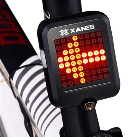 Stop inteligent bicicleta viraje laser infrarosu