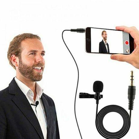 Петличные микрофоны разъемы: Lightning, Type-c, 3.5mm Новый Доставка