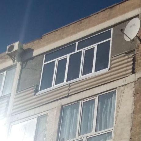 Утепление Балконов Газоблоками и Окна