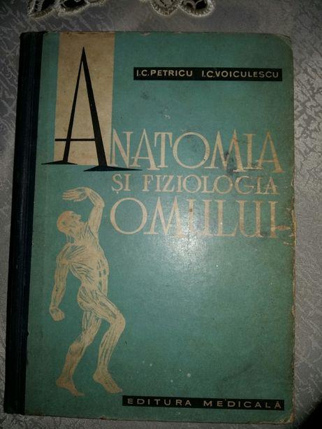 Carte Anatomia și Fiziologia Omului Petricu Voiculescu